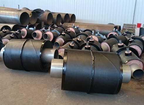 钢套钢直埋蒸汽保温管